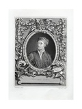 Engraving Print of William Kent Giclee Print by J.W. Cook
