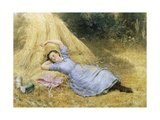 The Farmer's Daughter Giclee Print by Samuel Mccloy