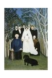 La Noce (The Wedding Party) Giclee Print by Henri Rousseau