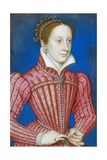 Mary, Queen of Scots Giclee Print by François Clouet