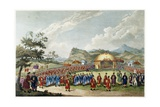 The Approach of the Emperor of China to His Tent in Tartar, to Receive the British Ambassador Giclee Print by William Alexander