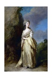 Mrs. Peter William Baker Giclee Print by Thomas Gainsborough