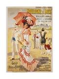 Boulogne S. Mer Poster Impression giclée par Henri Gray