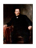 Grover Cleveland Giclee Print by Eastman Johnson