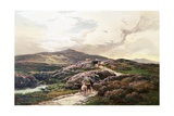 A Highland Landscape, Killin, Perthshire Giclee Print by Sidney Richard Percy