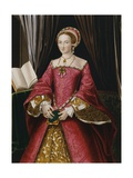 Portrait Print after Elizabeth Tudor Giclee Print by Hans Holbein