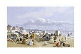 A Beach Scene Giclee Print by John Gadsby Chapman