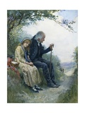 Grandpa's Favourite Giclee Print by Harold Copping