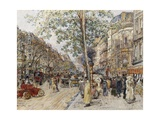 Parisian View Giclee Print by Frederic Anatole Houbron