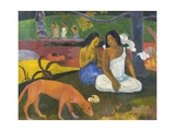 Arearea Reproduction procédé giclée par Paul Gauguin