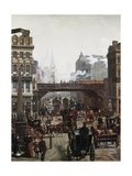 Ludgate Hill, London, England Giclee Print by Wilhelm Trubner