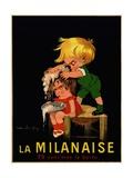 La Milanaise Poster Giclee Print by John Onwy