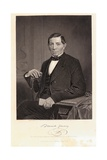 Benito Juarez Seated with Arm on Table Giclee Print