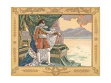 Illustration of Joachim Murat as the King of Naples Giclee Print by Jacques Onfroy de Breville