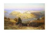 Samuel Lawson Booth - Jerusalem the Golden (Israel) Digitálně vytištěná reprodukce