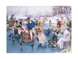Winter Fun Giclee Print by Frank Dadd