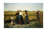 The Reapers Giclee Print by Jules Breton