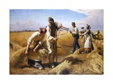 The Harvesters Giclee Print by Hans Brasen
