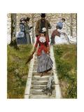 The Promenade Giclee Print by Leon Joseph Voirin