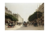 La Rue Royale, Paris, France Giclee Print by Edmond-Georges Grandjean