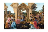 The Adoration of the Magi Giclee Print by Sandro Botticelli