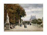 The Luxembourg Gardens, Paris, France Giclee Print by Stanislas-Victor-Edmond Lepine
