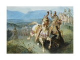 The Warhorse Giclee Print by Edward Henry Corbould