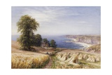 Harvesting on the Coast Giclee Print by Edmund George Warren