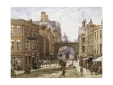 Forgate Street, Chester Giclee Print by Louise J. Rayner