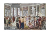 Floralia (Festival Dedicated to the Goddess Flora, Rome) Giclee Print by Prosper Piatti
