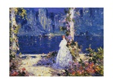 The Lights across the Water Giclee Print by Thomas Edwin Mostyn