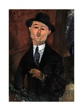 Paul Guillaume, Novo Pilota Giclee Print by Amedeo Modigliani