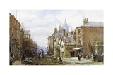 A View of Chester Giclee Print by Louise Rayner