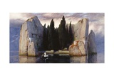 The Isle of the Dead Giclee Print by Arnold Bocklin