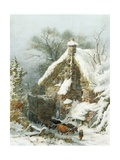 Taylor's Farm, Rudhall, Near Tunbridge Wells Giclee Print by John Ernest Croft