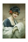 Portrait of a Woman by Francois Martin-Kavel Giclee Print by Francois Martin-kavel