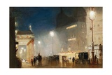 The Haymarket, London Giclee Print by George Hyde-Pownall
