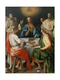 Cena in Emmaus (Supper at Emmaus) Giclee Print