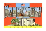 Greetings from Montgomery, Alabama Giclee Print
