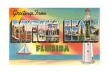 Greetings from Daytona Beach, Florida Giclee Print