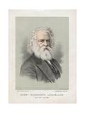 Henry Wadsworth Longfellow Giclee Print