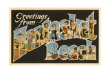 Greetings from Nantasket Beach, Massachusetts Giclee Print