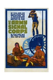 U.S. Army Signal Corps Recruitment Poster Giclee Print