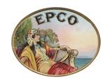Epco Cigar Label Giclee Print