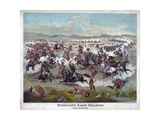 Custer's Last Charge Giclee Print