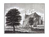 Waltham Abbey Church in Essex Giclee Print