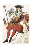 Print Depicting Frederick I, King of Prussia Giclee Print