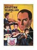 Mustafa Kemal Ataturk Giclee Print
