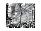 Sky Littered with Electrical Wires on Broadway in New York City Giclee Print
