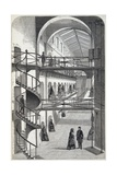 Engraving Depicting Interior of the House of Detention, Clerkenwell Giclee Print